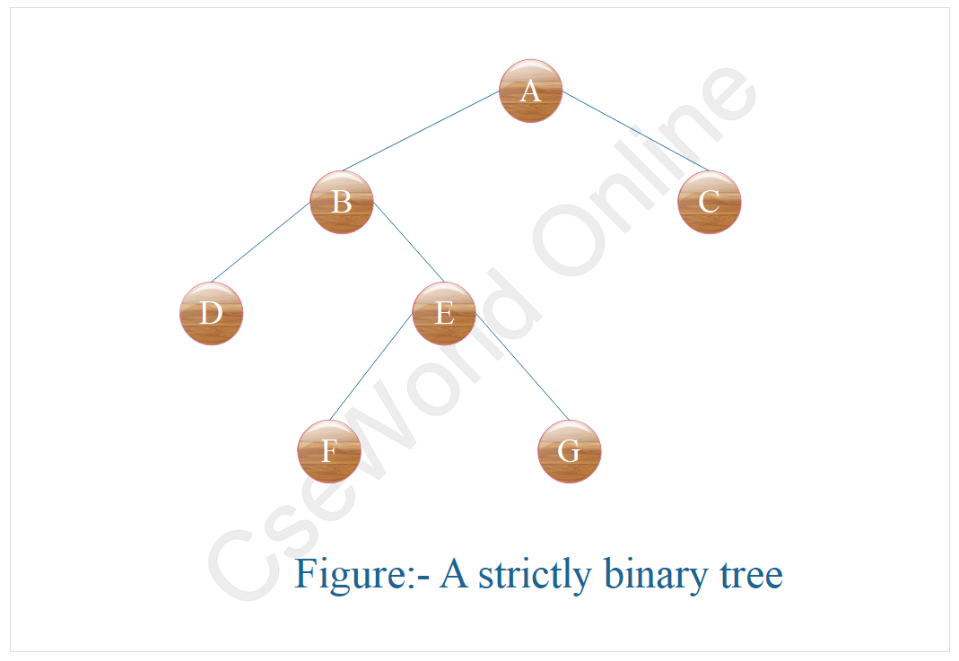 Strictly Binary Tree in data structure